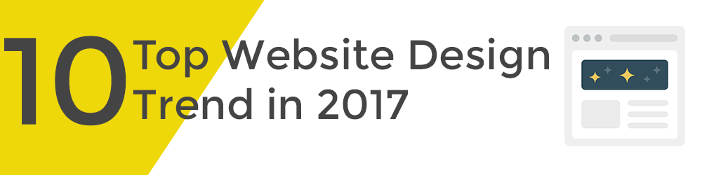 top 10 website design trend 2017 banner